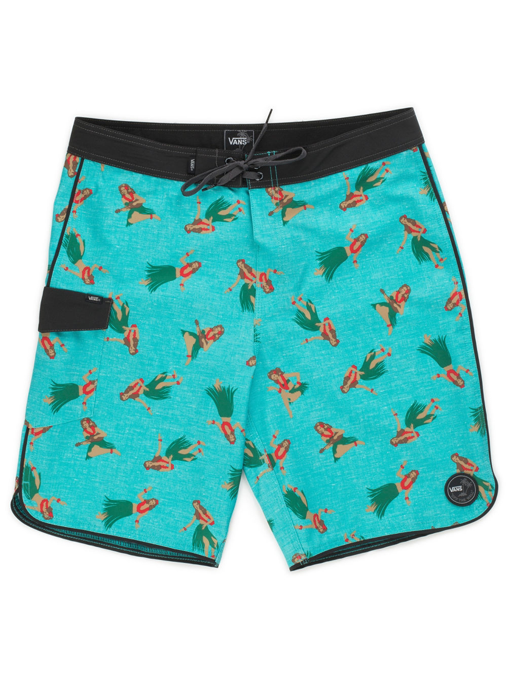 Mixed Scallop Boardshorts