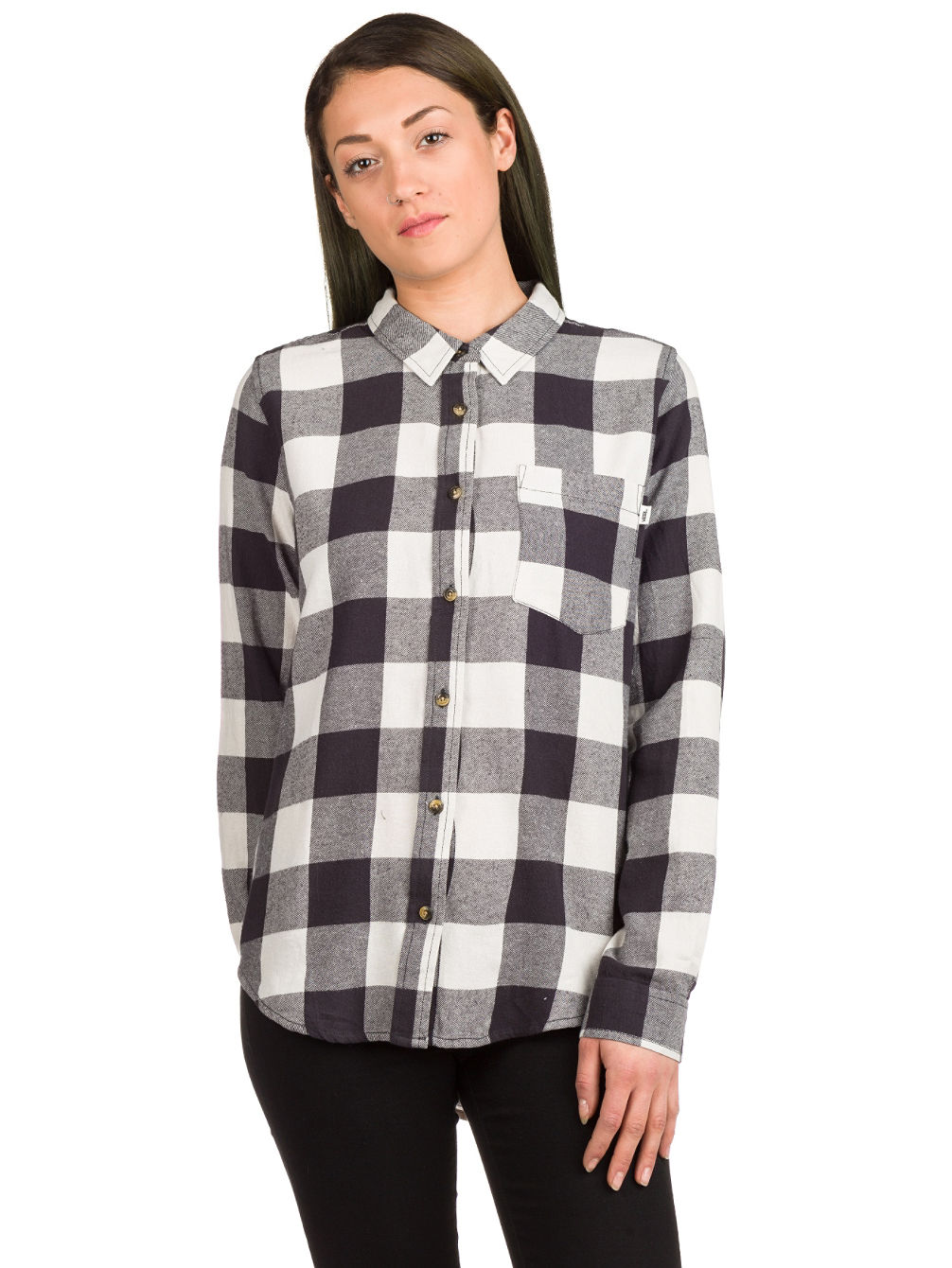 Moody Blues II Flannel Shirt LS