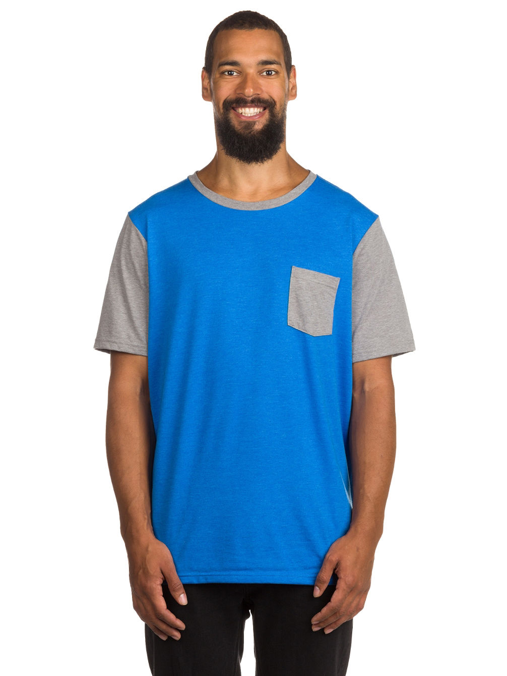50/50 Solid Pocket T-Shirt