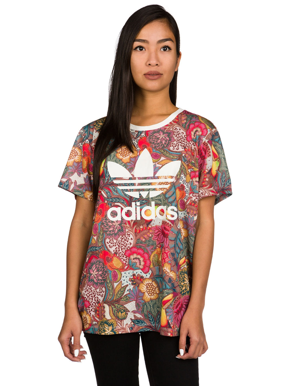 f1c6b272a3e2 Buy adidas Originals Fugiprabali BF Trefoil T-Shirt online at Blue ...