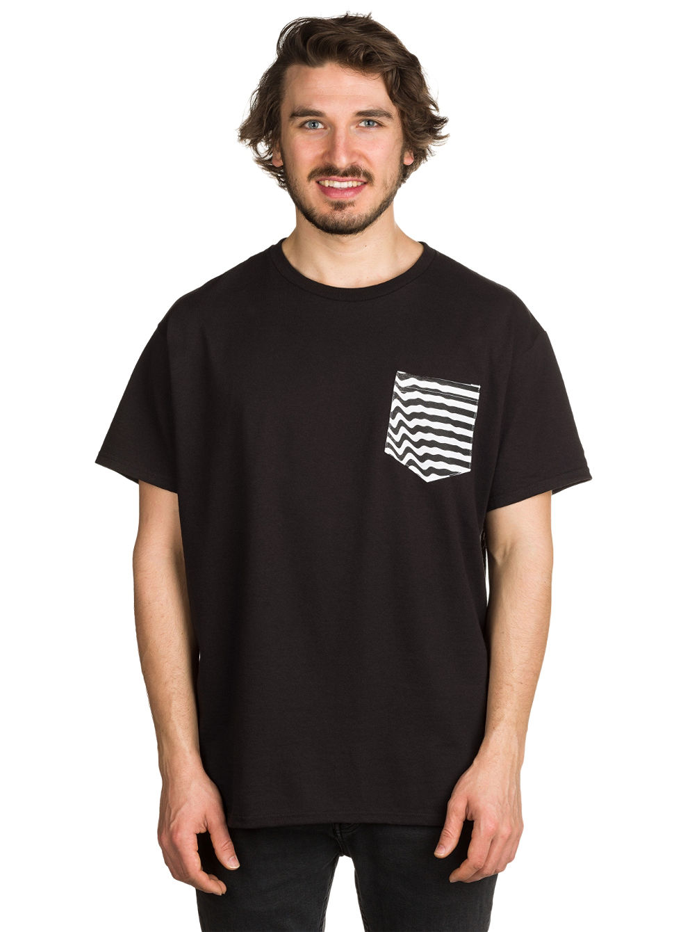 Ripple Pouch Pocket T-Shirt