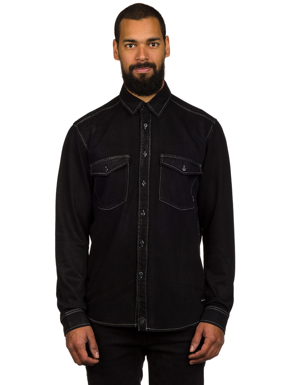Tracks Down Shirt LS