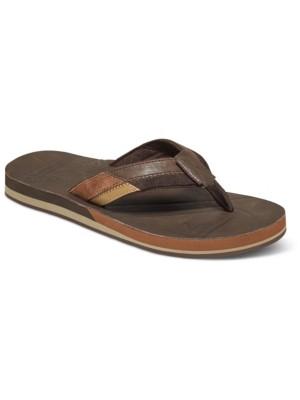Quiksilver Hiatus Sandals brown / black / brown Gr. 39.0 EU