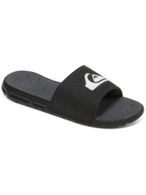 Quiksilver Amphibian Slide Sandals black / black / white Gr. 47.0 EU