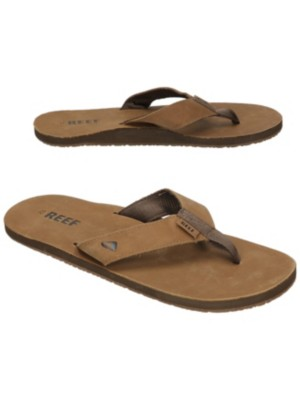 Reef Leather Smoothy Sandals bronze brown Gr. 8.0 US