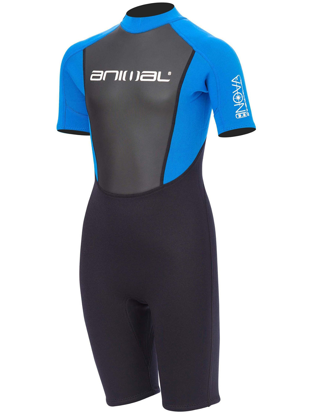 Nova 3/2 Back Zip Shorty Wetsuit Boys