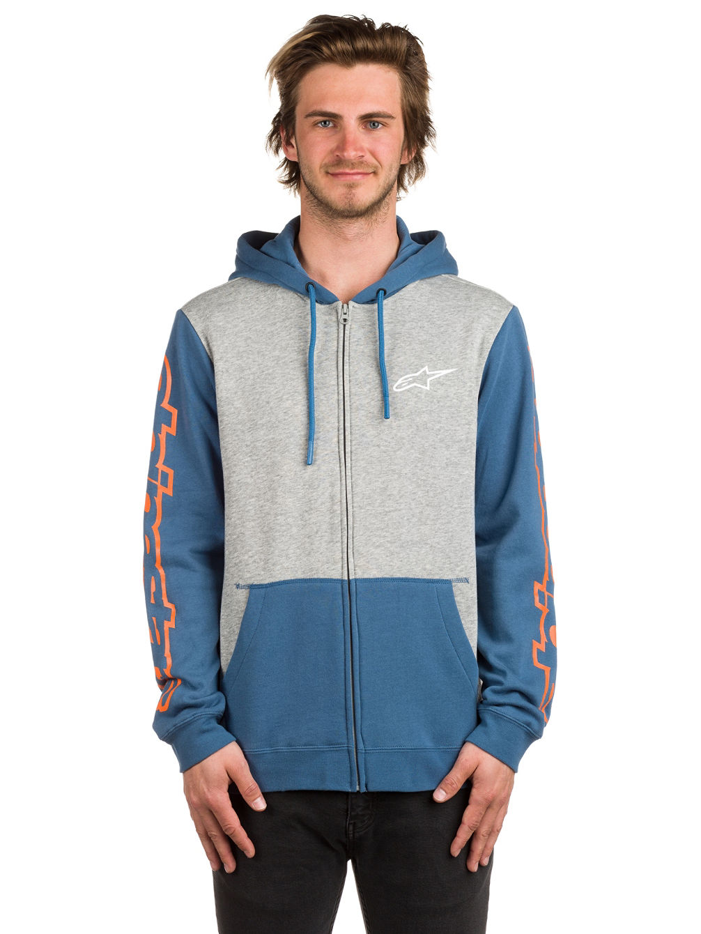 Machine Fleece Zip Hoodie