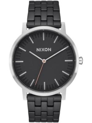 Nixon The Porter black / steel Gr. Uni