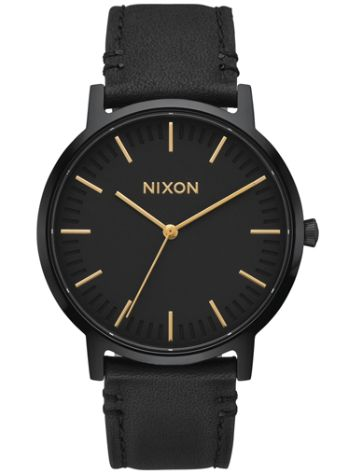 Nixon The Porter Leather Klocka