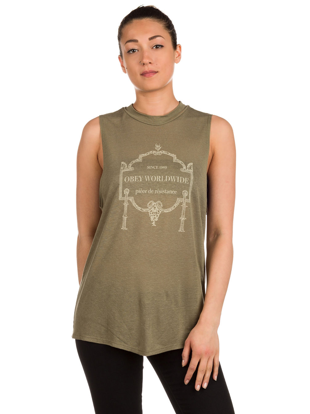 Obey Resistance Tank Top