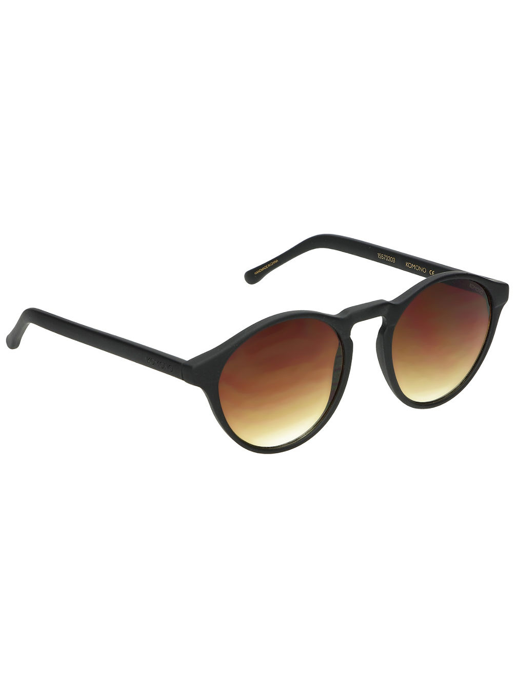 Devon Black Rubber Sonnenbrille