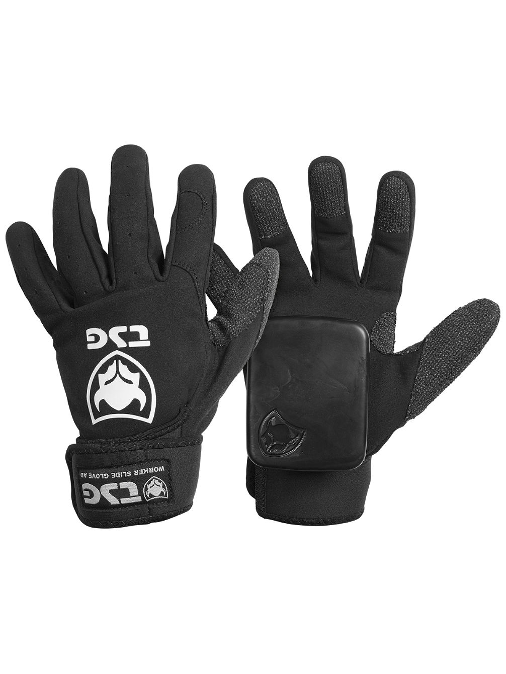 Worker Slide Ad Gloves