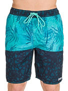 Watercolor Palms Hot Tub Boardshorts