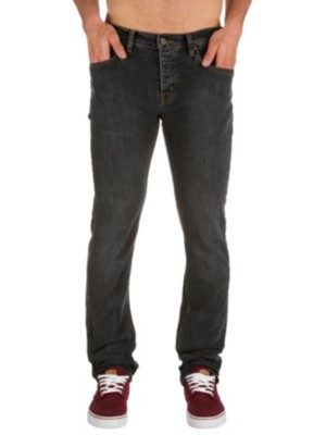 KR3W K Slim Jeans black stone Gr. 28