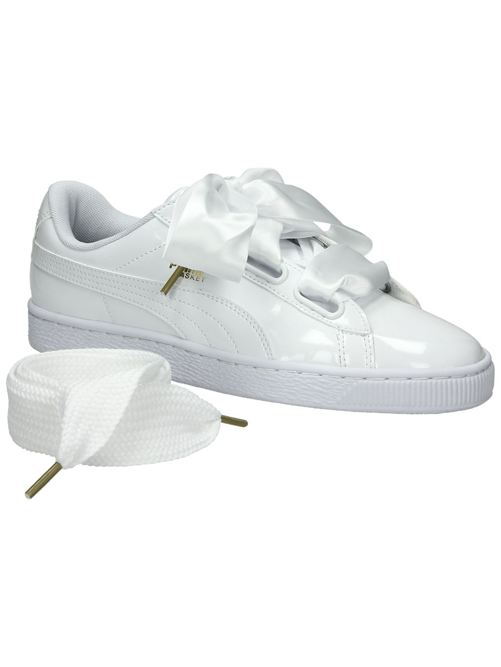 Basket Heart Patent Sneakers Women