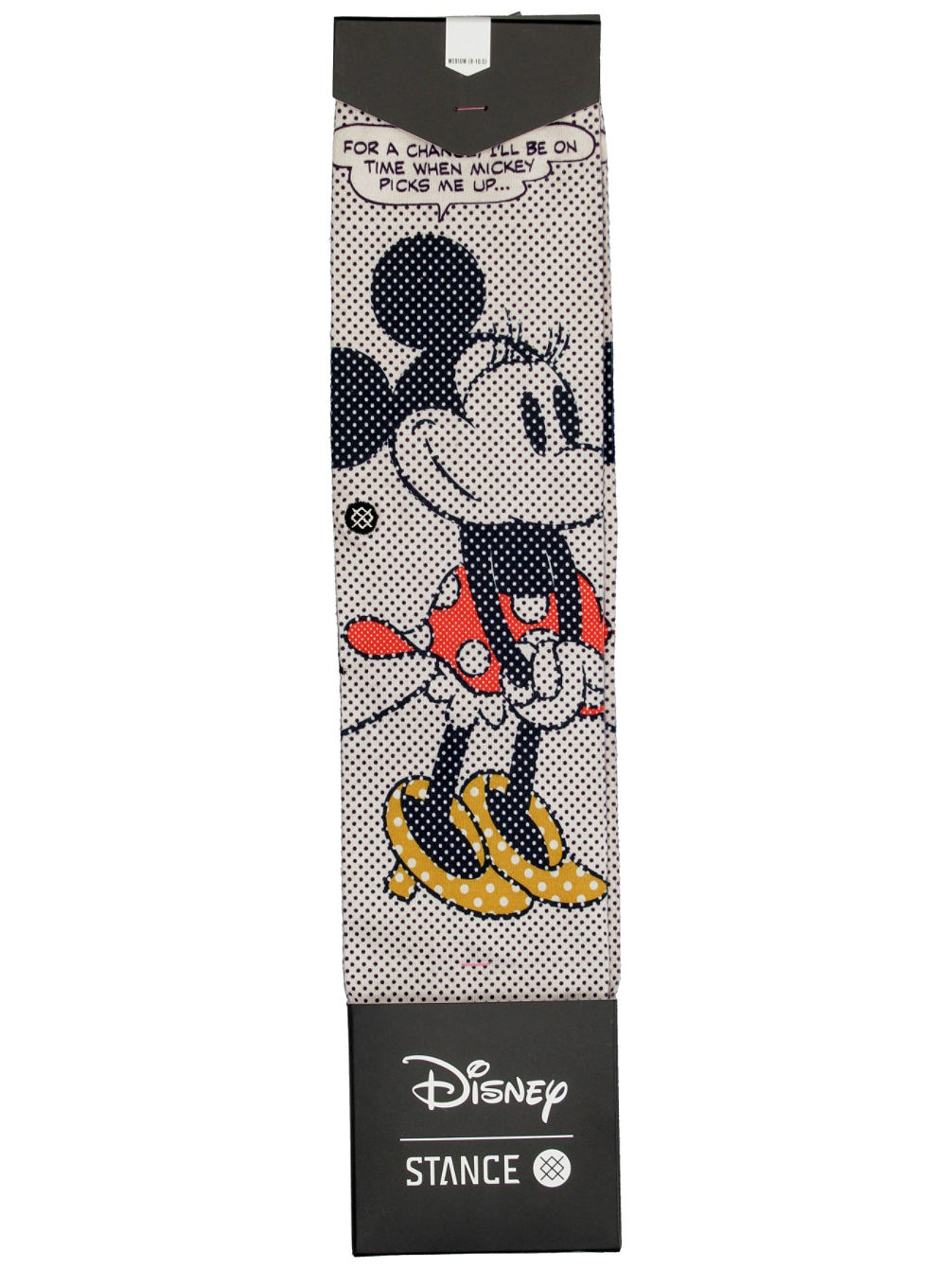 Tick Tock Minnie Disney Socks