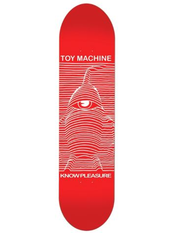 "Toy Machine Toy Division Red 8.25"" Skate Deck"