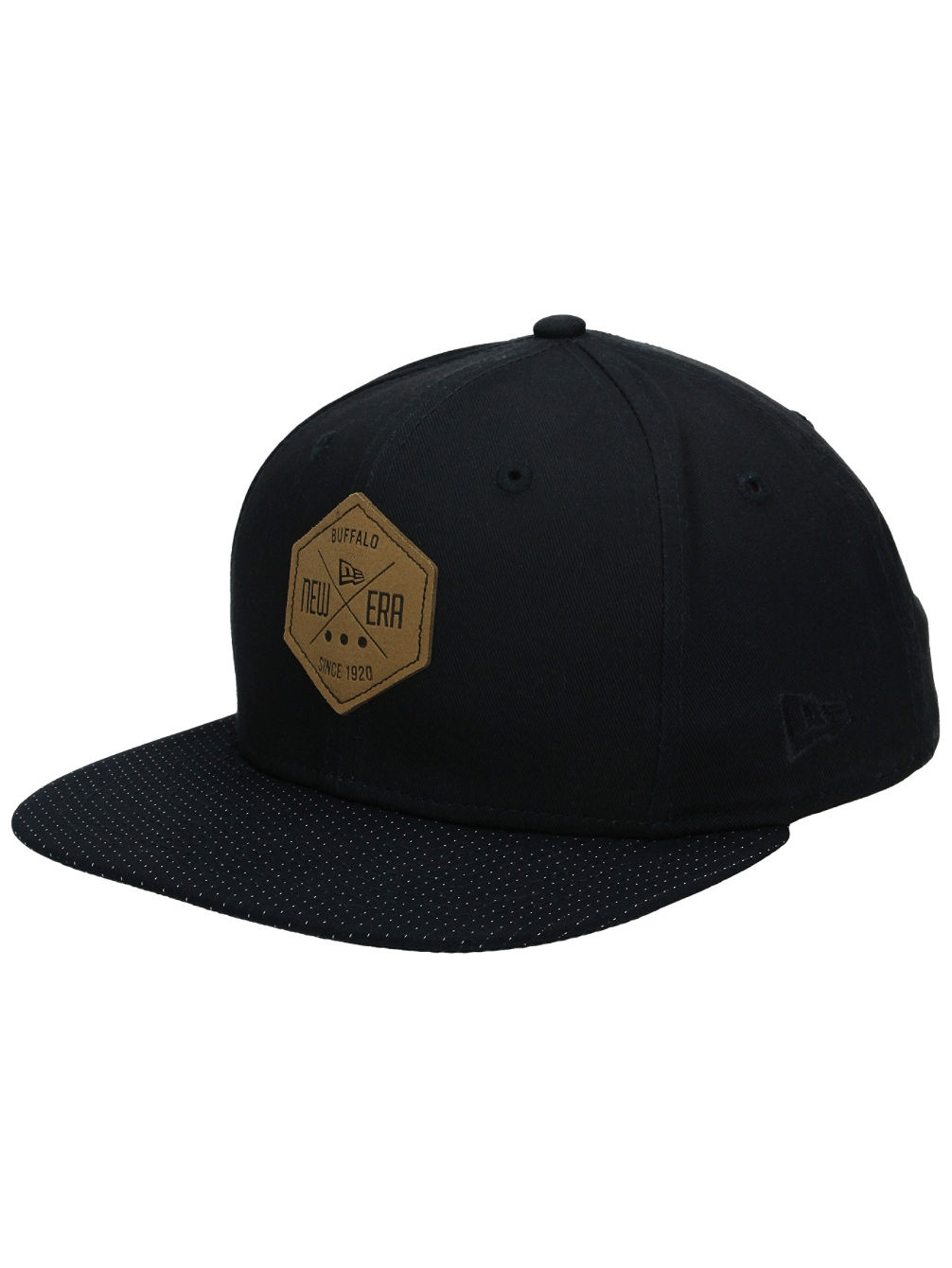 NE Hex Patch Snapback Cap