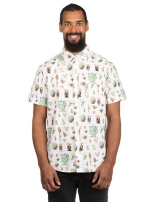 Dedicated Cactus Shirt white Gr. S