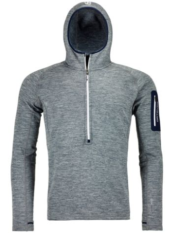 Ortovox Light Melange Zneck Fleece Pullover