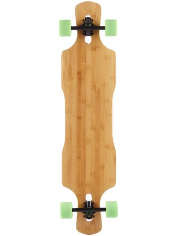 "Nice Skateboards Bamboo Twin Kick Shop Modell 43"" X 10"" C"