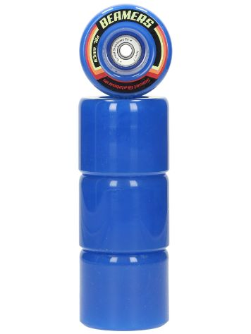 Sunset Skateboards Blue 63mm Beamer Rollen