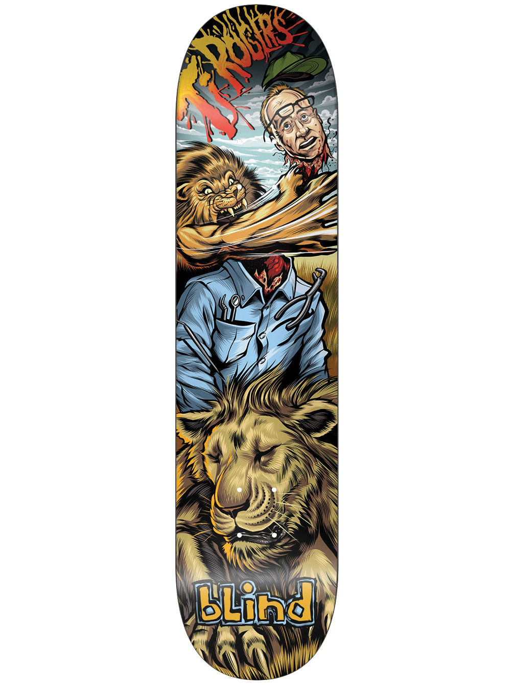 "TJ Hunter 8.25"" x 31.7"" Skate Deck"
