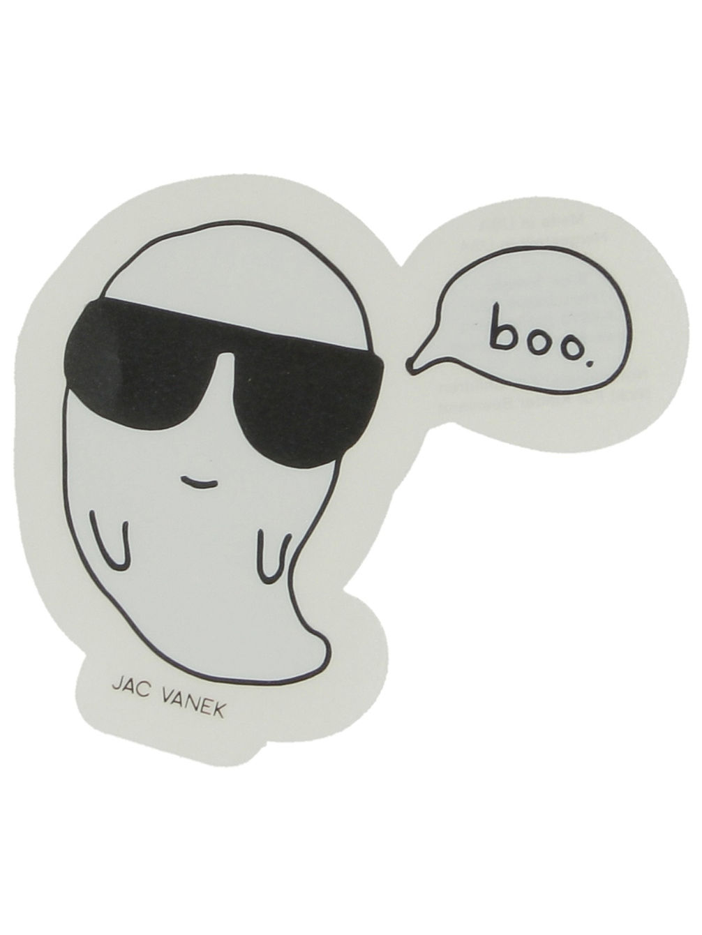 Cool Boo Sticker