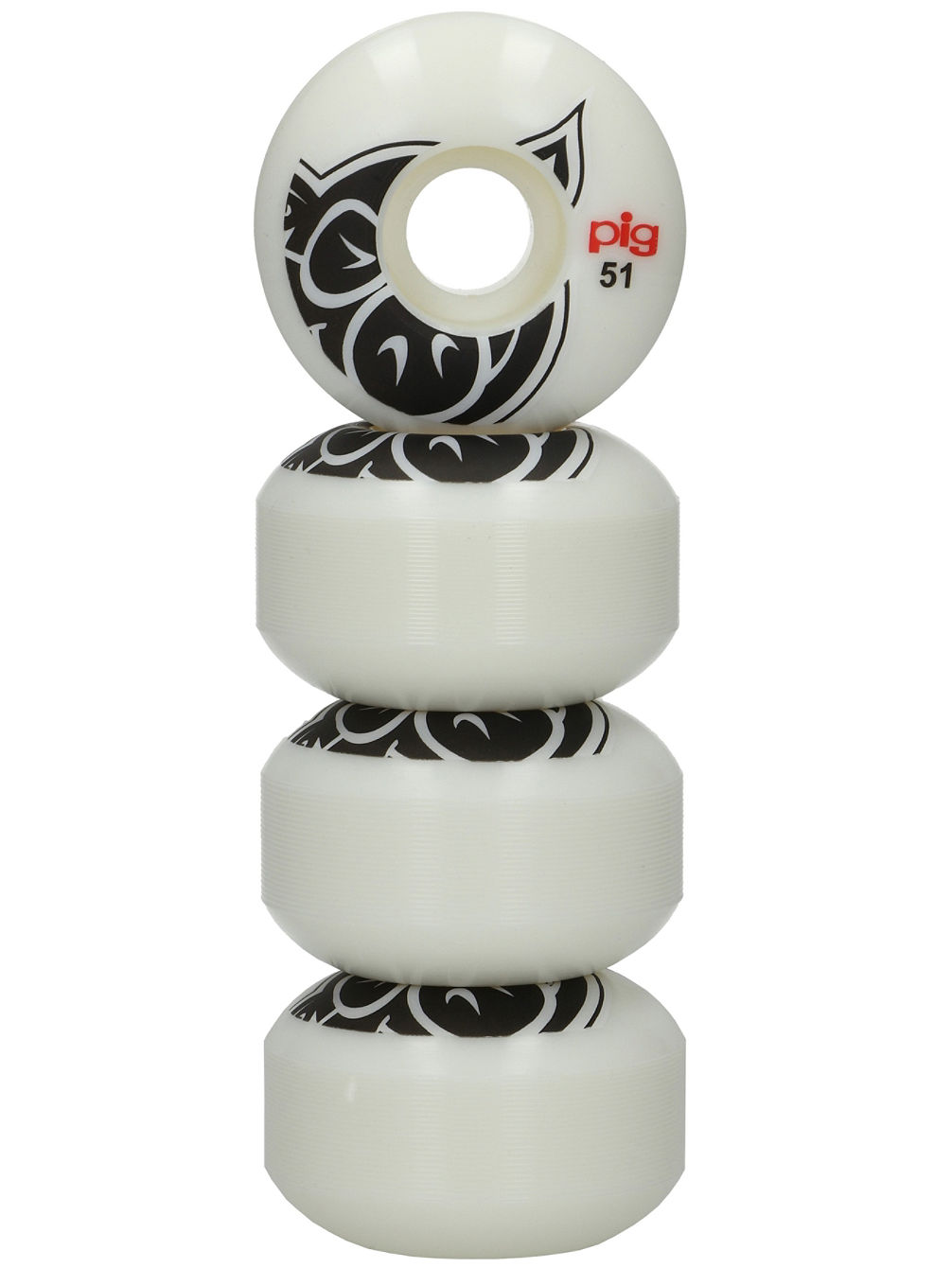 Pig Head Natural 101A 51mm Wheels