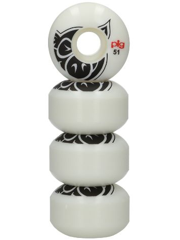 Pig Wheels Pig Head Natural 101A 51mm Wheels
