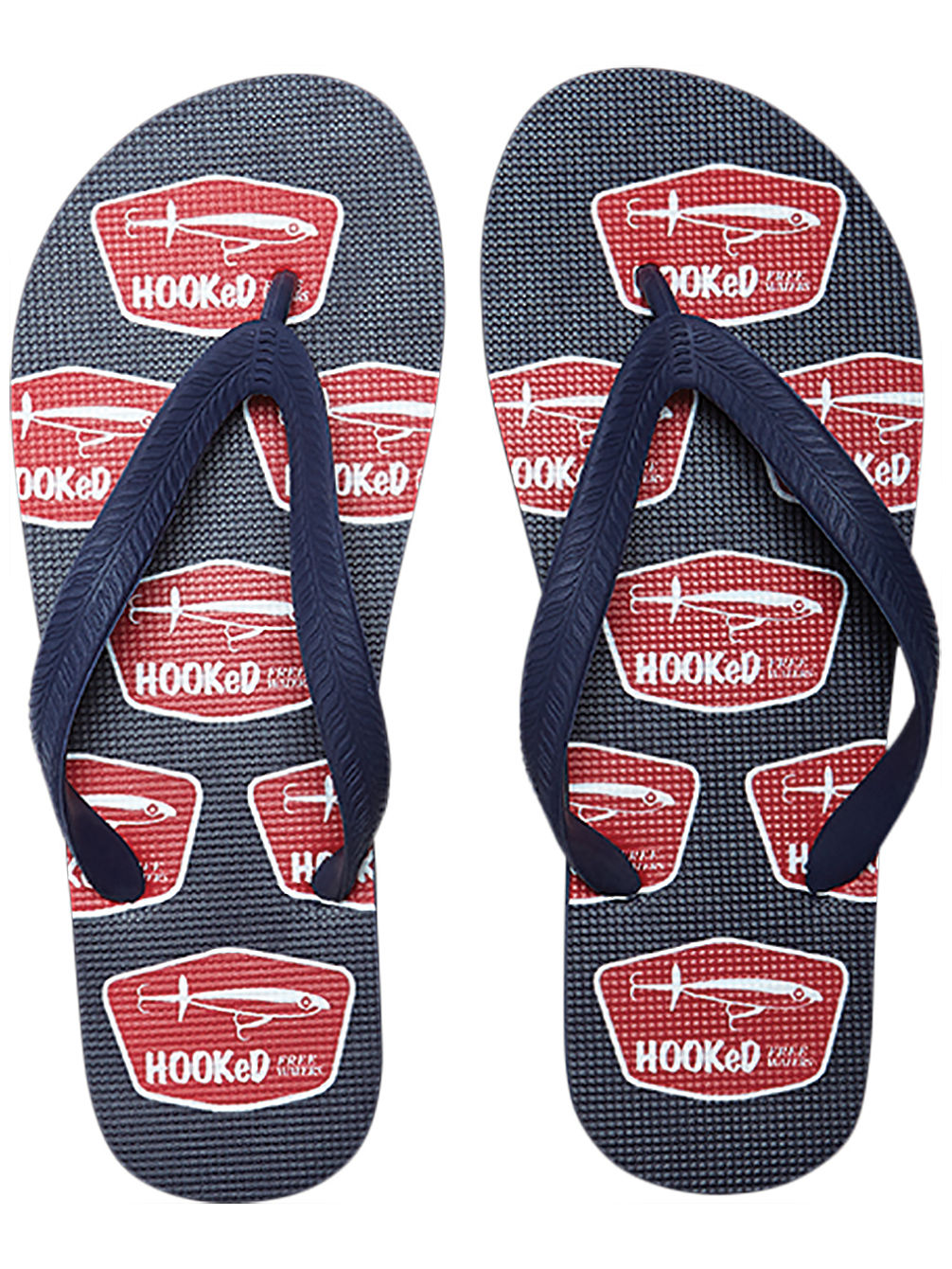 Tommy Print Sandals