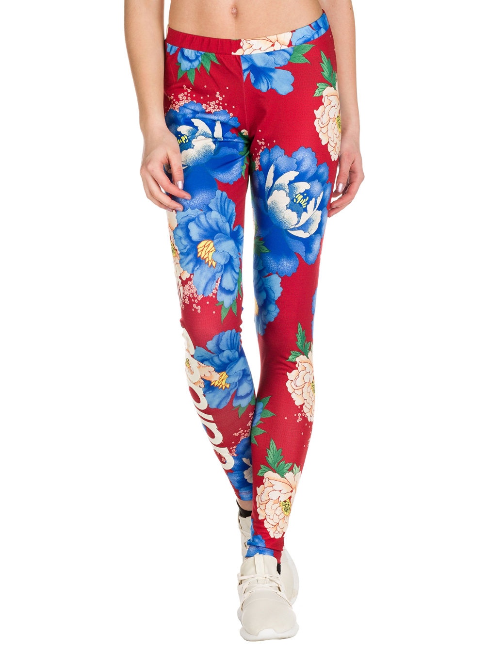 a3e784660386d Buy adidas Originals Chita Oriental Linear Leggings online at Blue ...