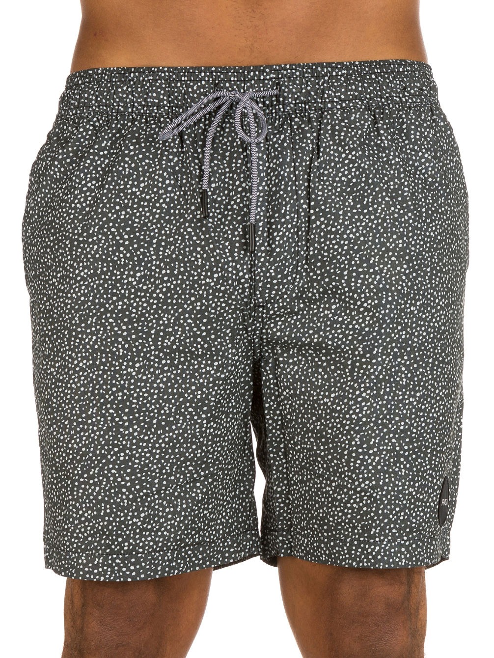Speckled Elastic Shorts