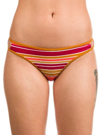 RVCA Stripe Type Medium Bikini Bottom
