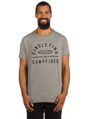 Passenger Single Fins & Campfires T-Shirt