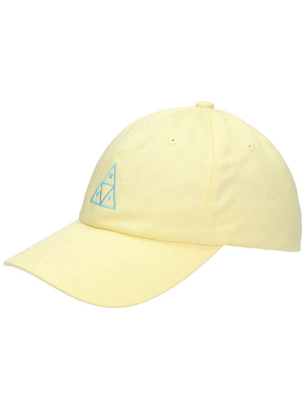 Triple Triangle Curved Visior 6 Panel Cap