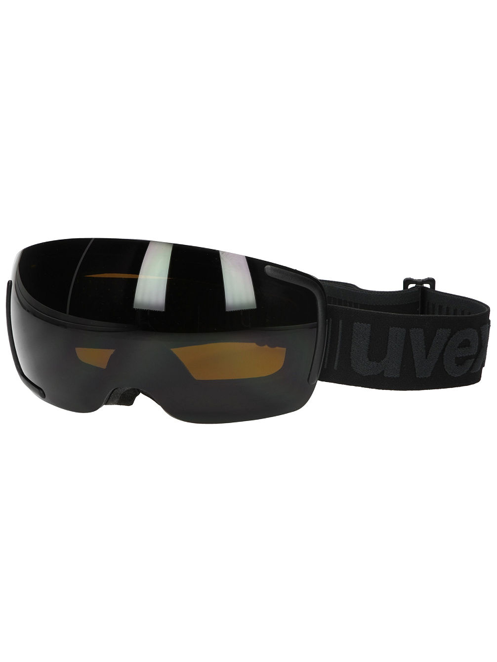 Big 40 FM Pitch Black Mat Goggle