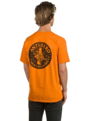 Antihero German Engineering T-Shirt orange Gr. S