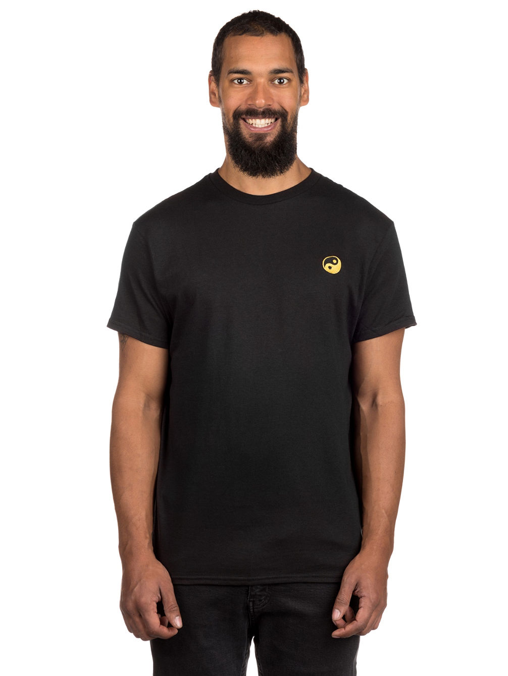 Yin Yang Embroidery T-Shirt