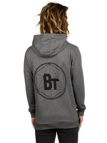 Blue Tomato BT Backprint Zip Hoodie