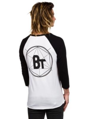 Blue Tomato Backprint Raglan T-Shirt LS white / black Gr. S
