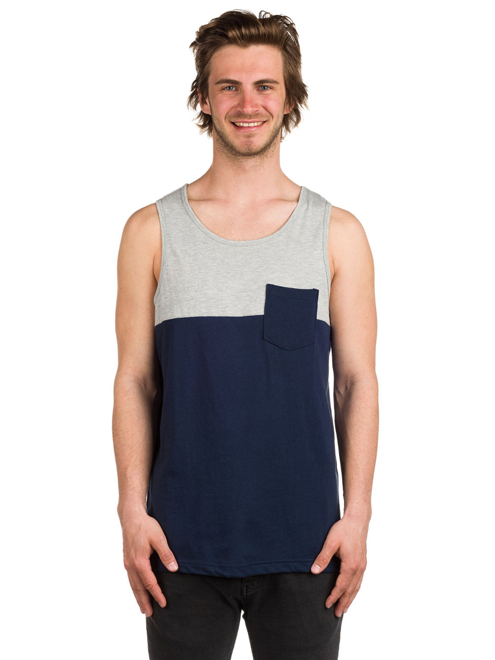 Blocked Tank Top