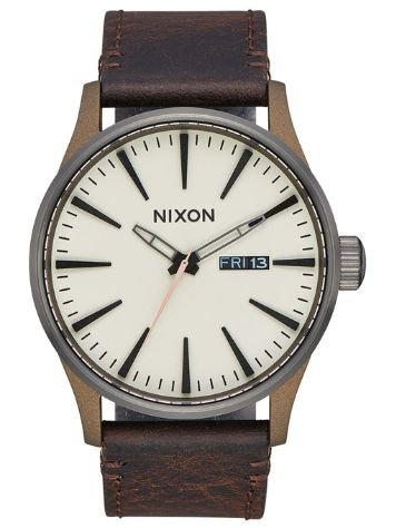 Nixon The Sentry Leather Uhr