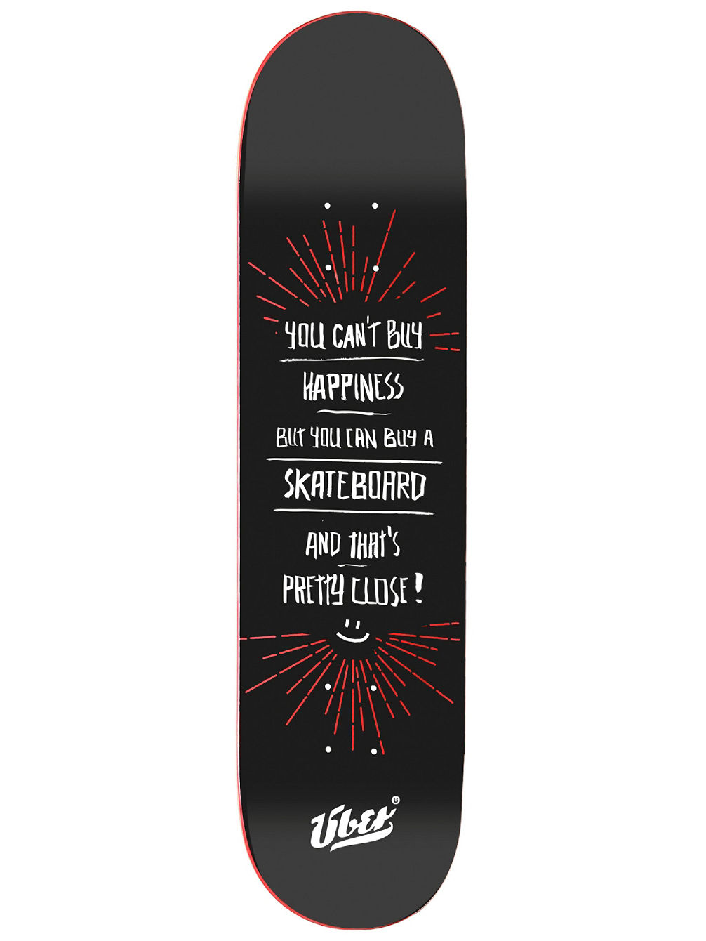 "Happiness 8.0"" Skate Deck"