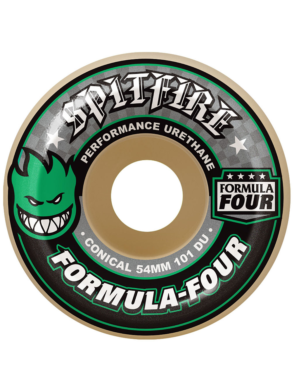 Formula Four 101D Conical II 53mm Wheels