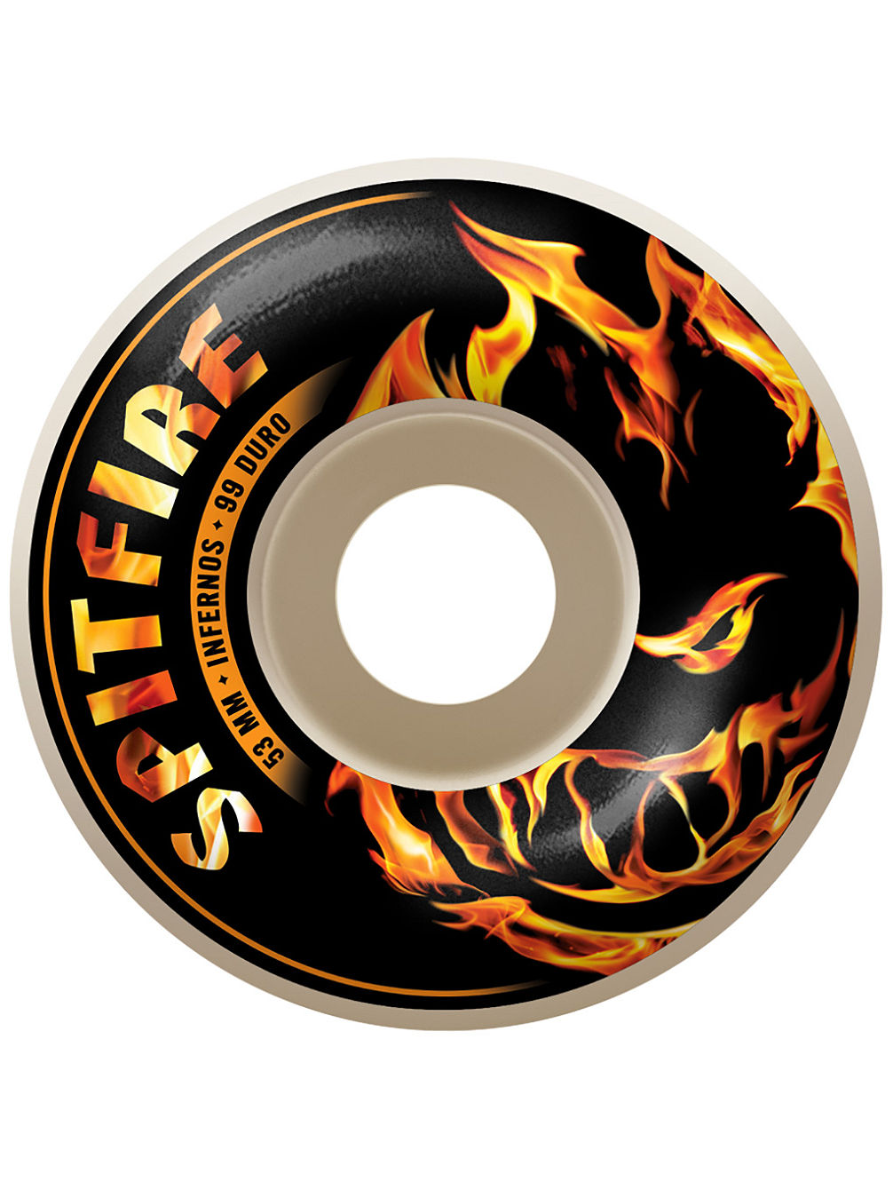 Infernos White 51mm Wheels