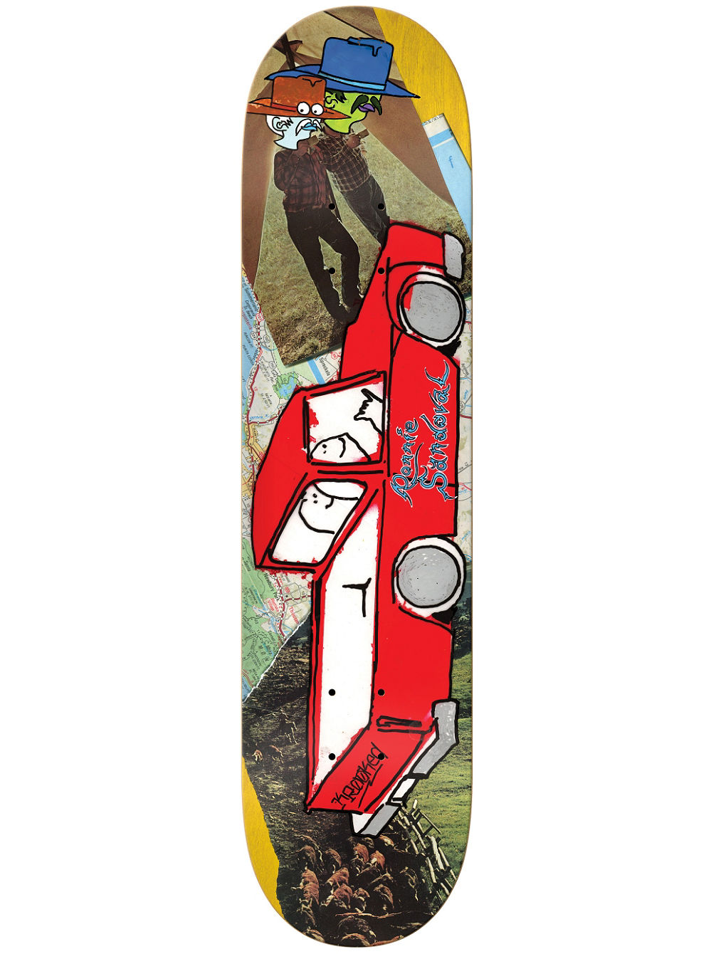 NEW PRO Tore Up 8.25'' Skate Deck