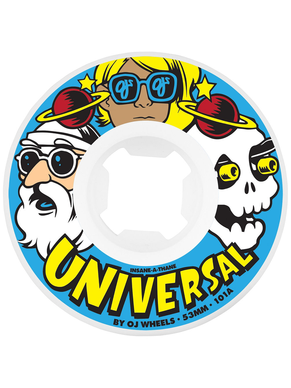 Universal Insaneathane 101A 55mm Rollen