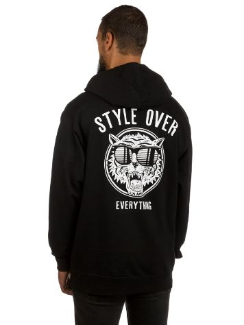 Broke and Stoked Style Over Every Thing Hoodie