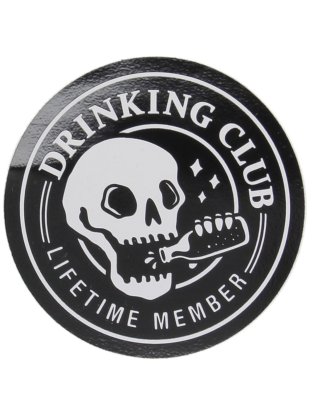 Drinking Club Sticker
